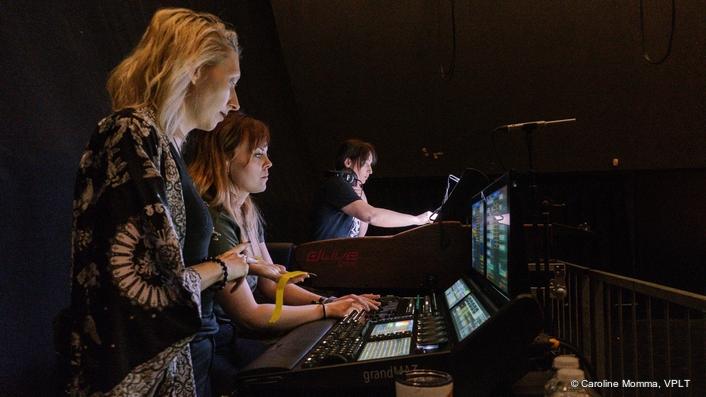 grandMA3 celebrates at SPOT festival: All female tech crew