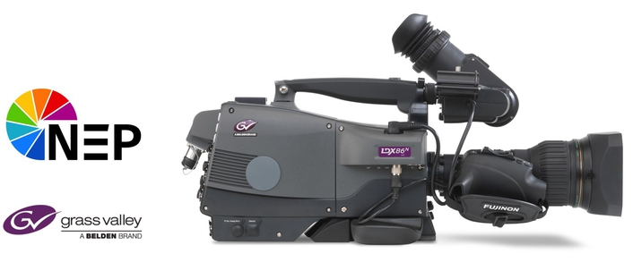 NEP Europe Standardizes on Grass Valley LDX 86N 4K Cameras for All New Mobile Production Units