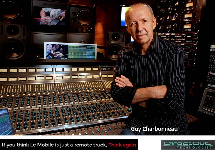 CHARBONNEAU OF LE MOBILE PUTS DIRECTOUT'S ANDIAMO.MC, ITS CONVERTERS, AND M.1K2 ROUTERTO THE ULTIMATE TEST
