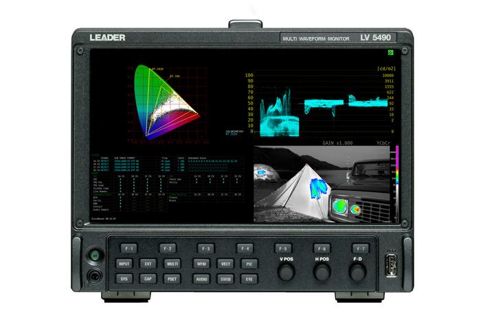 TV Skyline Chooses Leader LV5490 for New OB8 UHD Mobile Production Vehicle