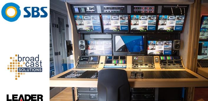 SBS Specifies Leader LV5940 4K Test Instruments For UHD1 OB Truck