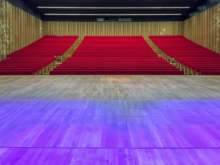 Historic Le Couvent des Jacobins Convention Centre has installed Riedel´s Artist, Bolero and SmartPanel.