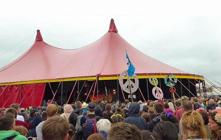 Martin Audio Deployed on John Peel stage, The Park and Left Field at Glastonbury
