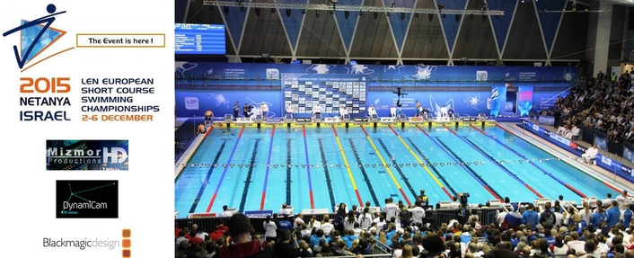 Live Production at European Short Course Swimming Chamgionships