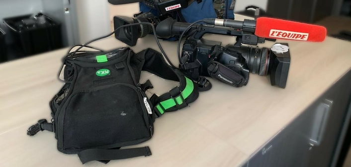 L'Équipe Transmits Live from the Field with TVU Networks