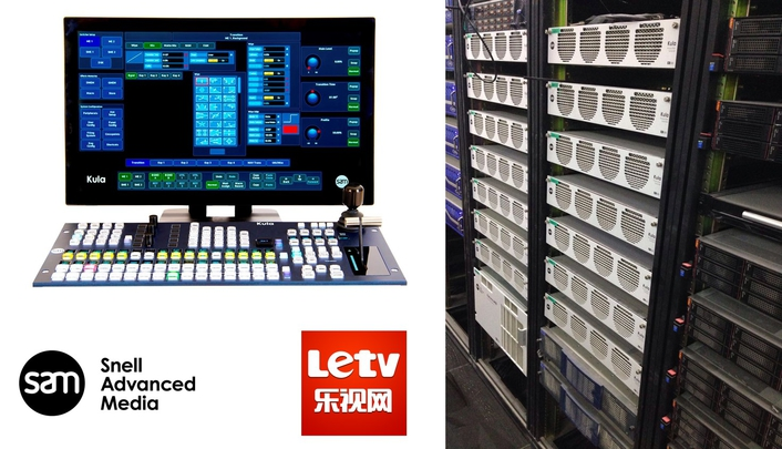 China's LeTV Sports drives live sports programming with 14 Kula switchers from SAM