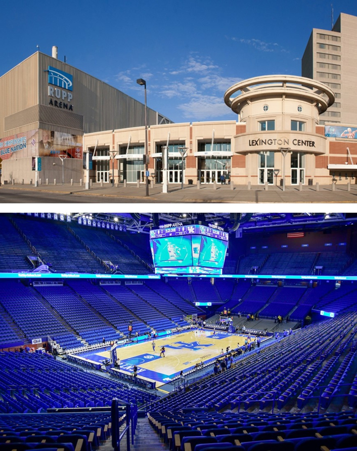 Lexington's Rupp Arena, the country's largest purpose-built basketball venue, turns to Cincinnati's Loud & Clear Inc. for a system matching its size, quality and flexibility