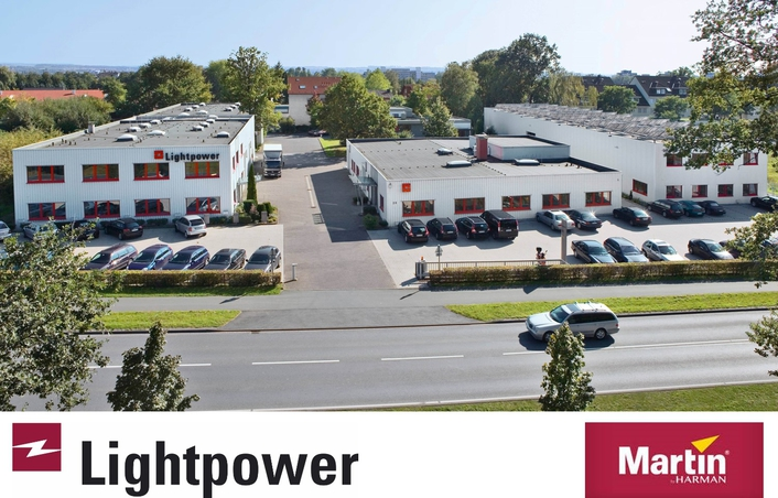 HARMAN Professional Solutions Grants Distribution of Martin by HARMAN in Germany and Austria to Lightpower