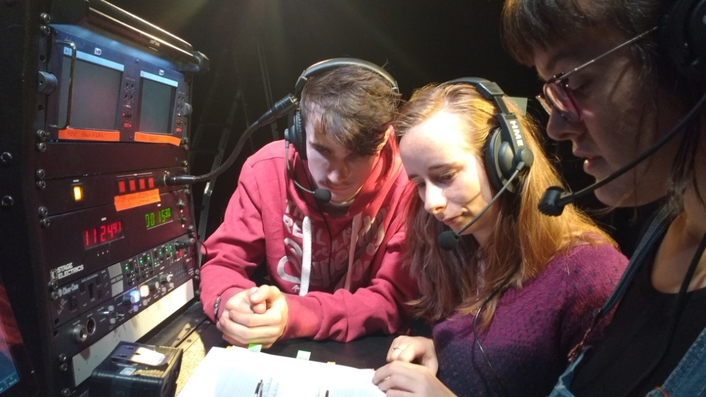 Industry leading communication solutions provided to The Lir Academy for stage management and technical theatre students
