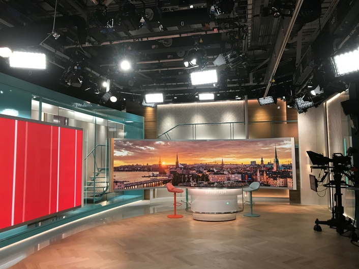LITEPANELS GEMINI AND SOLA BRING EXCELLENT LIGHT QUALITY AND VERSATILITY TO TV4's 'AFTER FIVE' LIVE TALK SHOW
