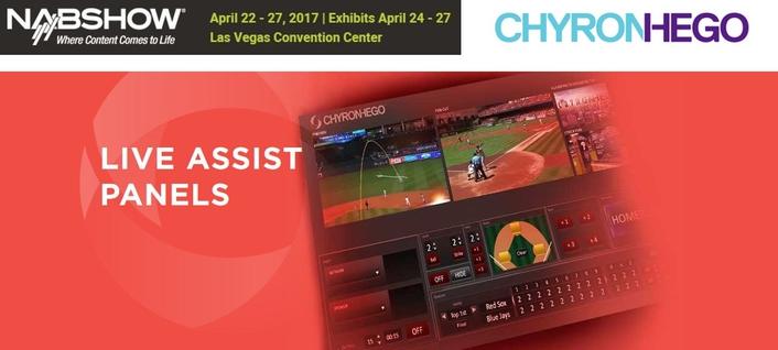 ChyronHego Introduces Live Assist Panels Platform @ NAB2017