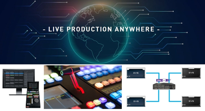 Live Production Anywhere
