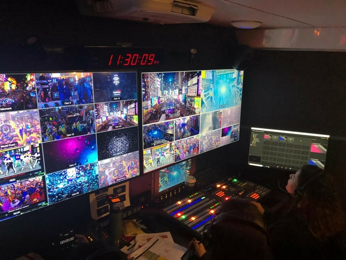 The Live X team filled every seat, from Director, to graphics and playback.