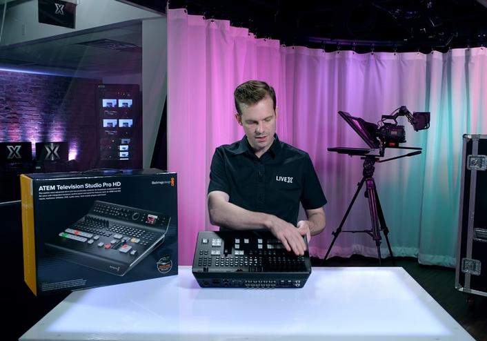 Live X Studio  - Producing your best work