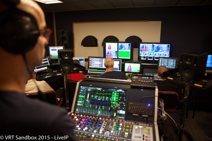 EBU, VRT and Technology Partners create the world's first IP TV studio