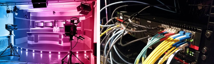 Nevion IP Studio solution to power live multi-camera debate at VRT's LiveIP studio