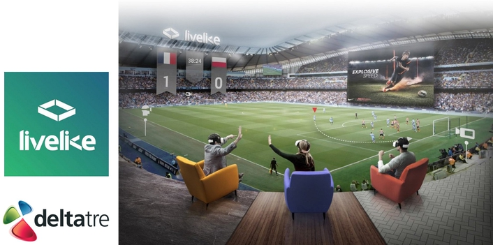 LiveLike and Deltatre partner to accelerate innovation of VR in live sports