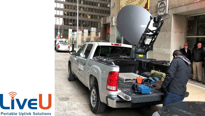 LiveU Launches Affordable Global IP Satellite Service to Complement Cellular IP Connectivity