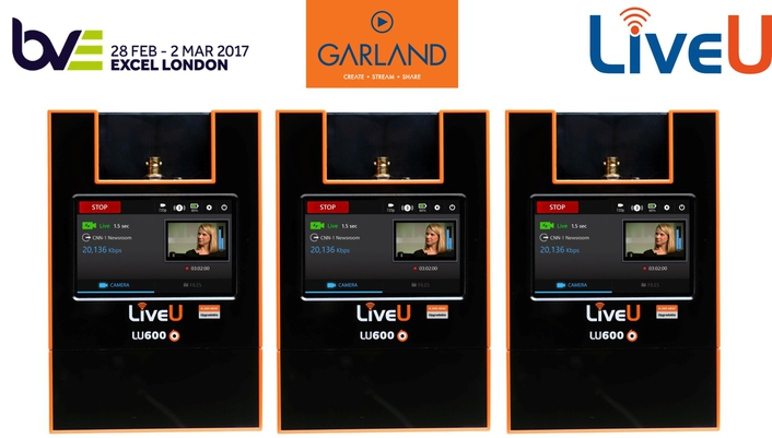 Garland Partners/LiveU at BVE2017