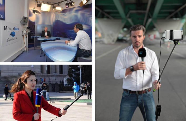 iPhones, LiveU and Imagination: Swiss Station Leman Bleu Creates the Local TV Station of the Future