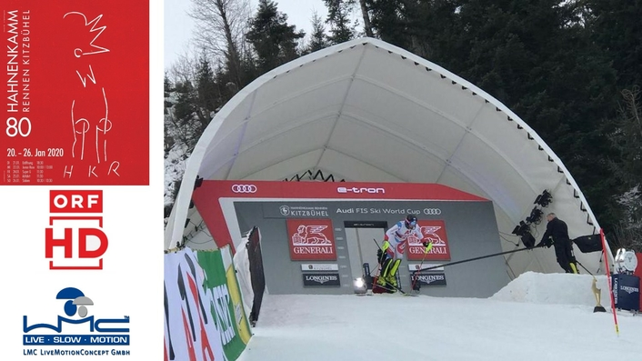 World-famous 80th FIS Kitzbuehel Hahnenkamm Race relies on Antelope Ultra Slow Motion cameras