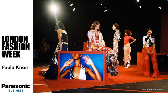 Displays on trend at London Fashion Week