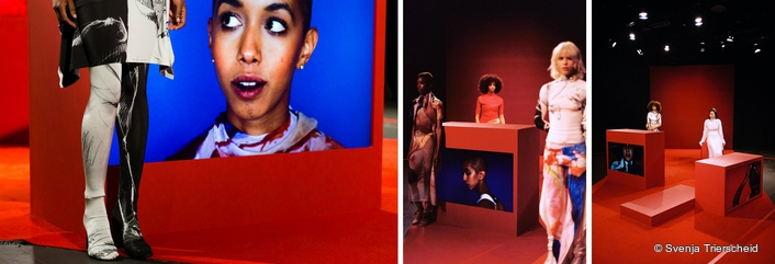 Panasonic high brightness displays took centre stage at London Fashion Week as they were used by breakthrough fashion designer Paula Knorr at her Spring/Summer '17 collection debut show