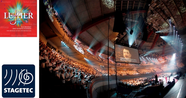4000 voices for Luther — spectacular finale for the Pop-Oratorio in Berlin