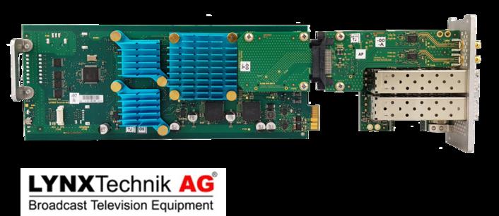 LYNX Technik Launches 8K SDI <> Fiber Converter