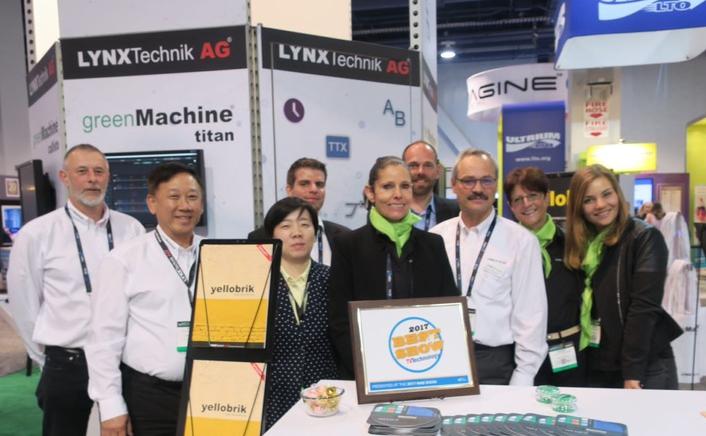 LYNX Technik's greenMachine Wins Another Award