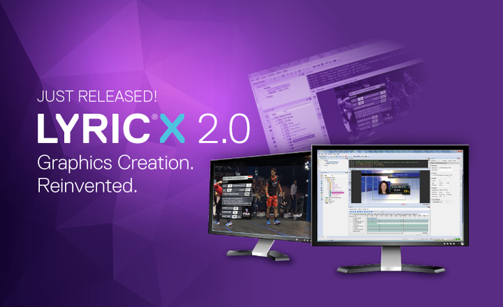 ChyronHego's All-New LyricX 2.0 Now Shipping