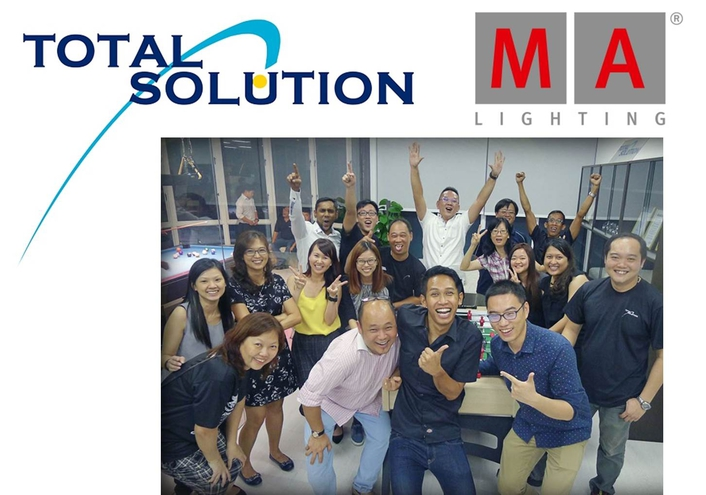 MA Lighting appoint Total Solution as new distributor for Malaysia and Singapore: Two strong partners join forces