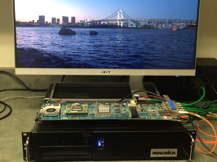 Macnica Completes Integration of Networked Media Interface Media Transport