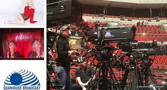 Gearhouse Broadcast Keeps Rebel Heart Pumping for Madonna Tour