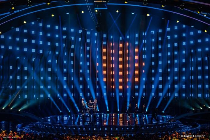 Ayrton adds architecture to Appelt's Eurovision splendour