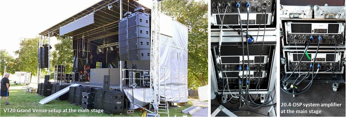 30 degrees - 30 amplifiers and 200 loudspeakers to power techno parade and festival