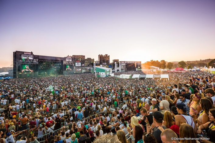 Stagelight AG provides technical infrastructure as 130,000 descend on Frauenfeld