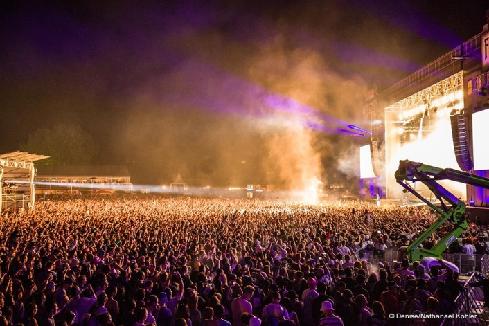 Martin Audio's premier PA systems were all across the main stages at Europe's biggest hip-hop festival
