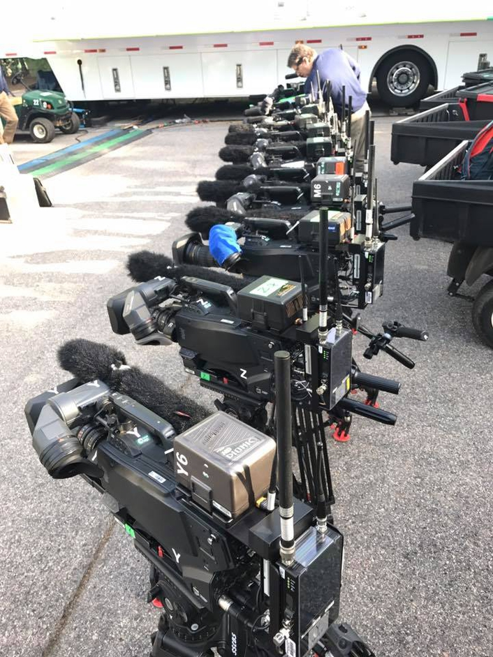 Broadcast Sports International provided seventeen Real Freedom microwave systems to CBS Sports for their coverage of the 81st edition of the Masters Golf Tournament