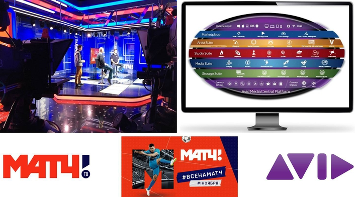 Match TV Harnesses the Power of Avid Studio Suite to Create Stunning Sports Coverage and Boost Revenue Streams