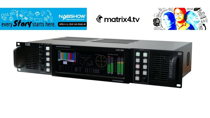 12G-SDI UHD 4K Audio Monitoring Units launched in the UK.