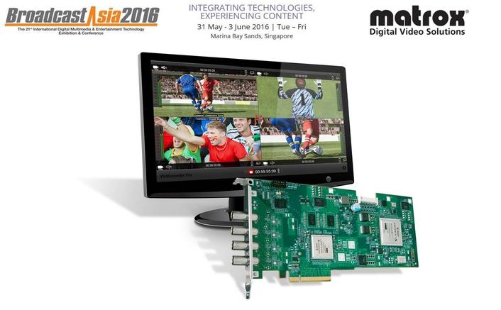 Matrox at BroadcastAsia2016