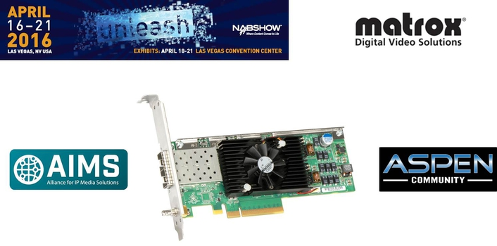 Matrox Announces X.mio3 IP Card to Help Broadcast Equipment Manufacturers Meet the Challenges of the SDI to IP Transition