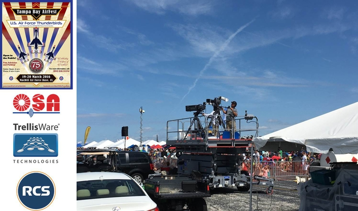 AirFest 2016 Live Production Reaches New Heights with Modern AV Workflow from RCS and OSA