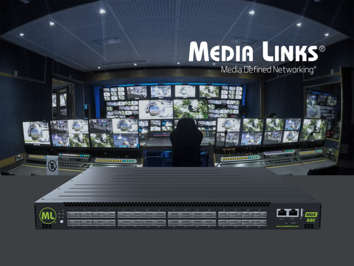Media Links Promotes 100G IP Solutions on NAB New York's Big Stage