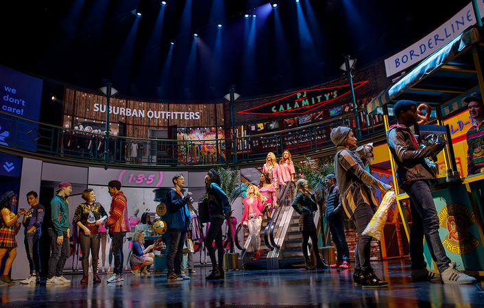 disguise ensures Mean Girls, The Musical shines brightly on Broadway