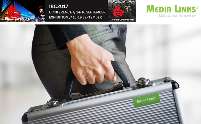 Media Links to Launch Small 'Go-Anywhere' IP Gateway Encoder and Decoder at IBC2017