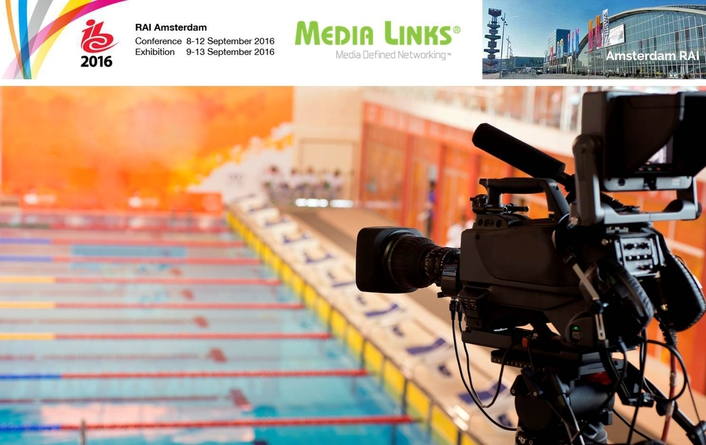 Media Links To Show New IP Management System at IBC2016