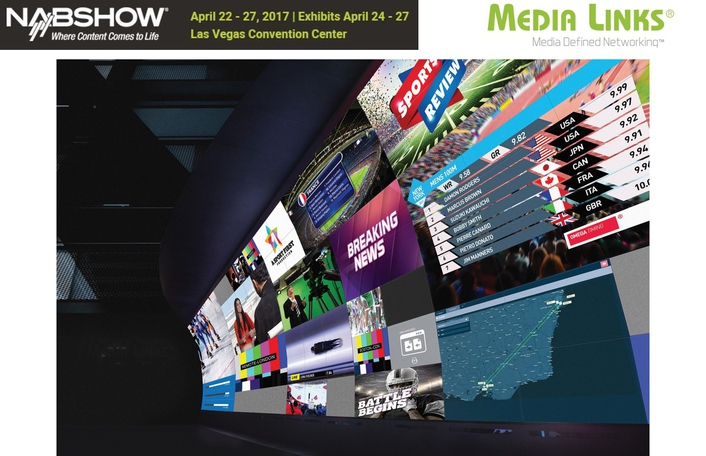 Media Links to Demonstrate 10Gb/s Hitless Data Transport at NAB2017