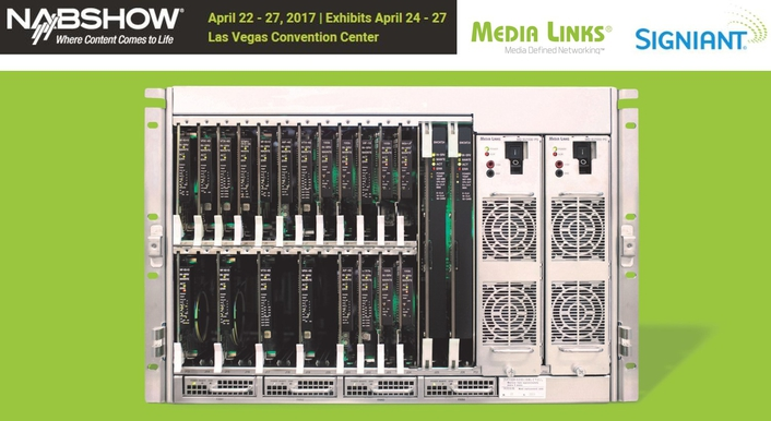 Media Links and Signiant to Conduct Joint Technology Demonstration at NAB 2017